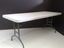 1.8m Heavy Duty Plastic Moulded Trestle Table