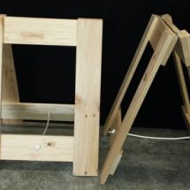 A Frame Trestle Table Legs.