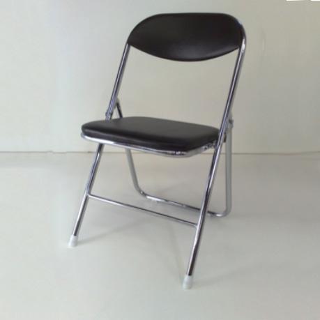chrome black padding Chairs
