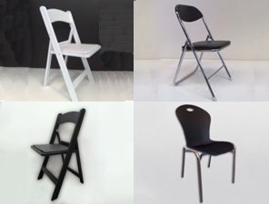 folding chairs widget