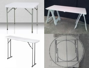 folding tables widget