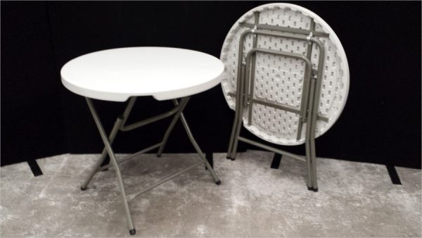 Plastic Moulded Round Table